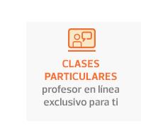 Clases Particulares -  profesor en línea exclusivo para tí